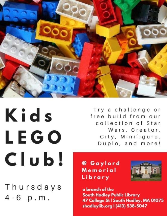 New LEGO Club