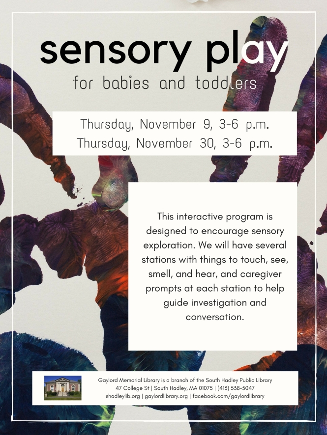 Thursday Sensory Play