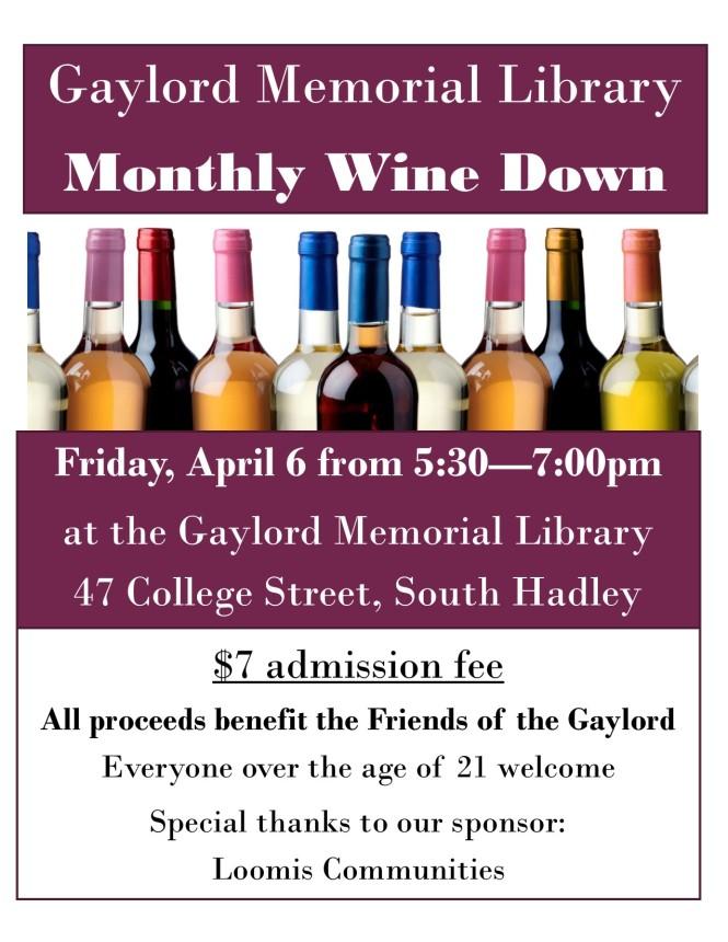 Wine Down April5