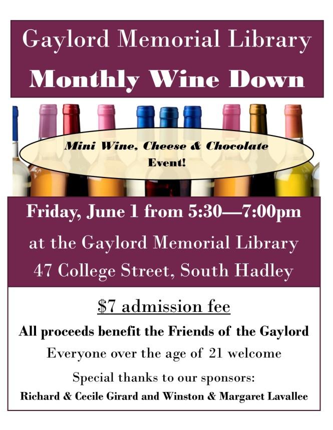 Wine Down June 1 2018