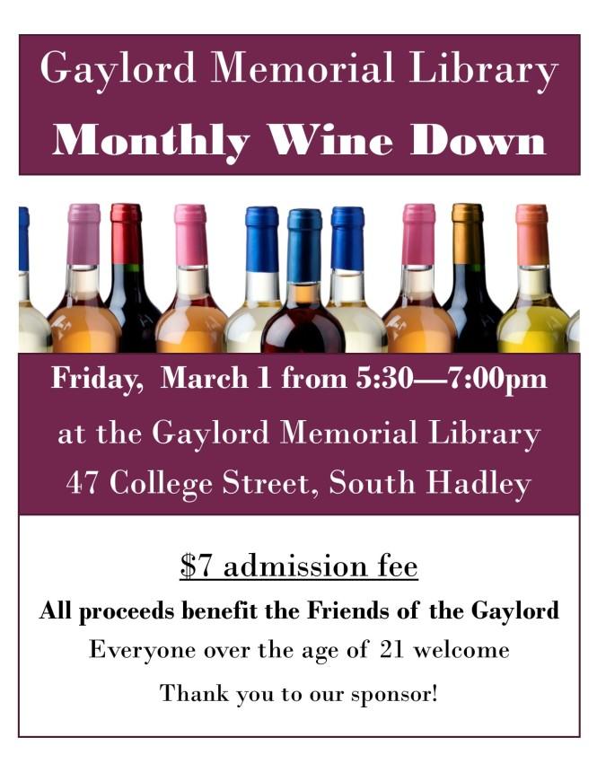 wine down march 1 2019
